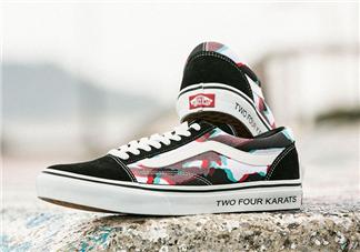 24karats与vans japan联名幻影迷彩帆布鞋在哪买_怎么买?