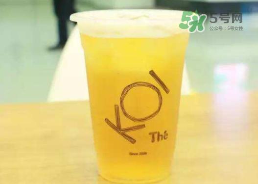 koi奶茶是哪里的品牌?koi奶茶为什么火?
