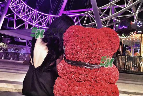 roseonly熊怎么样?roseonly玫瑰熊好看吗?
