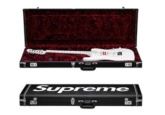 supreme与fender联名吉他多少钱?supreme电吉他价格