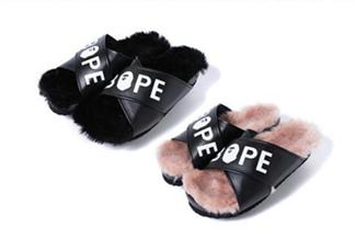 bape毛绒拖鞋多少钱?bape毛绒拖鞋价格