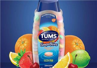 TUMS抗胃酸咀嚼钙片使用说明  TUMS抗胃酸咀嚼钙片说明书