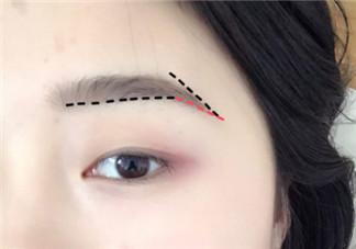画眉毛的技巧图解 快速画眉毛简单的步骤