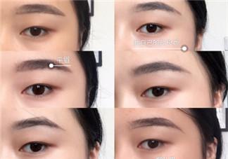 各种眉形的画法图片 不同眉形的画法