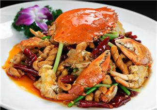 中餐厅香辣蟹的做法  中餐厅赵薇做的香辣蟹做法