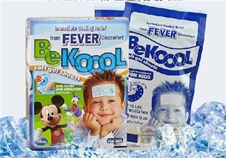 美国BeKool儿童退热贴怎么用  BeKool儿童退热贴说明书