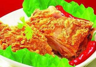 炸鸡排用什么粉比较脆?炸鸡排用什么裹粉最好?
