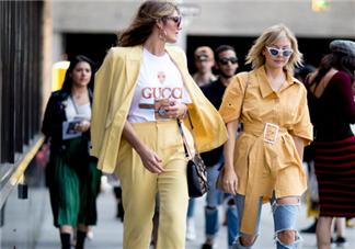 黄色西装怎么搭配好看?黄色西装搭配图片
