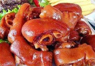 卤猪蹄的热量是多少 吃卤猪蹄会胖吗