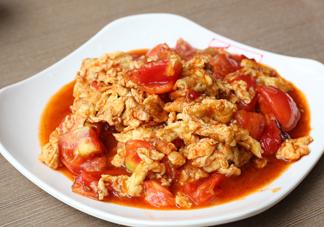 番茄炒蛋有什么好处?西红柿炒鸡蛋不能和什么一起吃