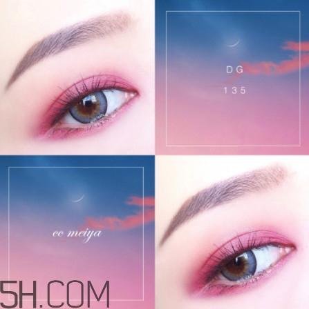 温柔职场眼妆的画法步骤图片图片