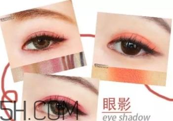口红眼影颜色搭配图片图片