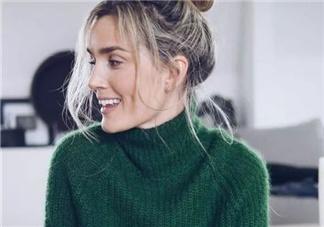 穿高领毛衣配什么发型?高领毛衣适合什么发型?