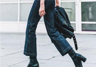 牛仔喇叭裤配什么上衣?牛仔喇叭裤搭配上衣图片