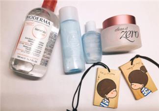 各种卸妆产品的使用方法与选择