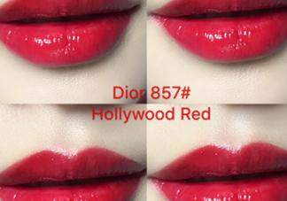 迪奥857和877哪个好看 迪奥857和877试色对比
