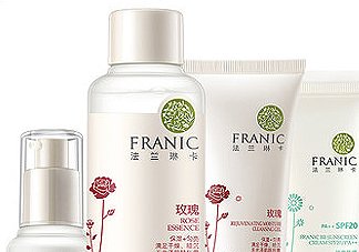 franic玫瑰粉嫩补水套装适合年龄_适合肤质