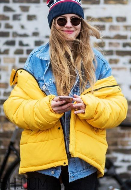 黄色棉服怎么搭配?黄色棉袄搭配图片