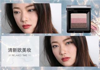 欧美妆容教程图解 清新欧美妆画法