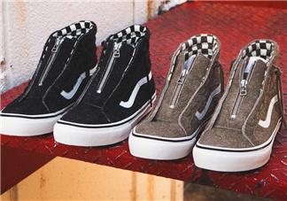 nonnative与vans sk8 hi联名鞋款发售时间_多少钱?