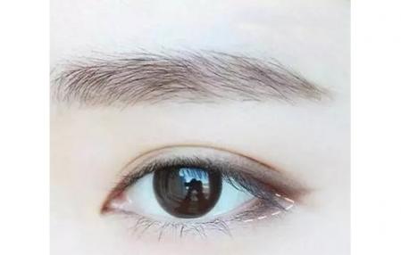 伪素颜眼妆画法步骤图片