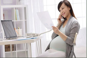 怀孕可以用电脑工作吗?使用须适当