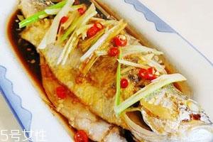 小黄鱼蒸几分钟 清蒸小黄鱼食谱
