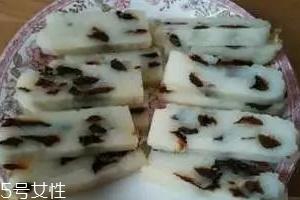简单蒸年糕的家常做法 用电饭锅就可以蒸出年糕
