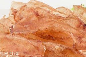 鳕鱼胶和花胶的区别 属于不同的部位
