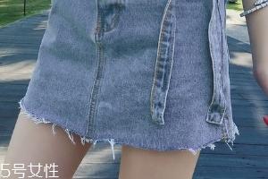 牛仔裙配什么颜色丝袜?牛仔裙搭配排雷