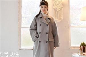 双排扣大衣怎么搭配?塑造干练女人味