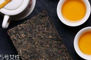 金花茯砖茶的功效与作用图片