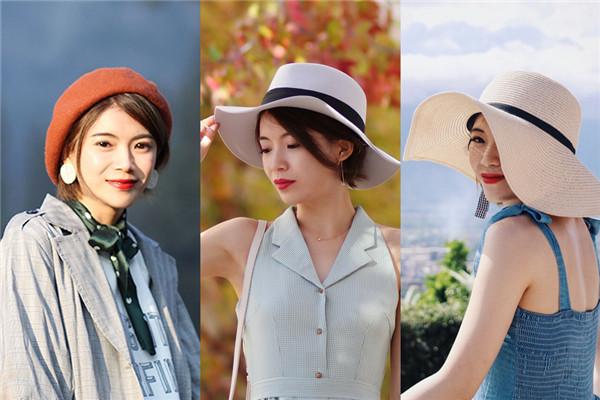 旅游戴什么帽子好 旅游帽子搭配图片