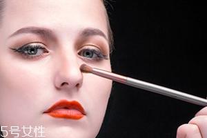 鼻影刷怎么用?鼻影的正确画法