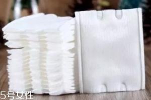 压边化妆棉有什么区别?不易变形