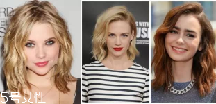免费测脸型配发型图片