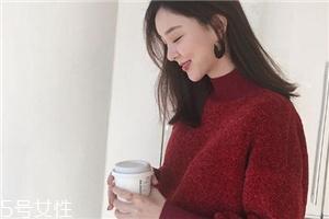 红色毛衣什么款式好看?新年运势全靠它