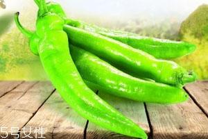 青椒热量高吗 可辅助减肥