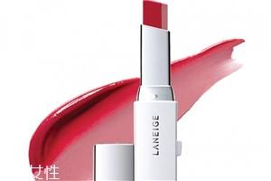 兰芝新品V型双色唇膏好用吗 金福南同款口红
