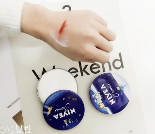 妮维雅小蓝罐正确用法图片