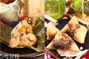 南方粽子和北方粽子的做法和材料