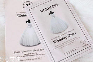 merbliss婚纱面膜适合人群 急救面膜适合任何人