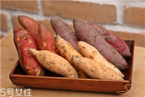 白心红薯和黄心红薯和红心红薯的区别