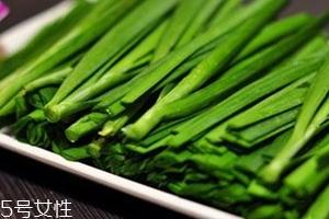 韭菜没熟吃了会怎么样?生韭菜很辛辣