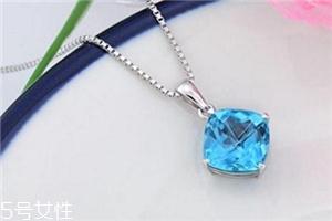 蓝水晶项链一般多少钱?色泽优质的上万元