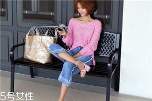 粉色针织衫搭配什么裤子?随心所欲显潮流