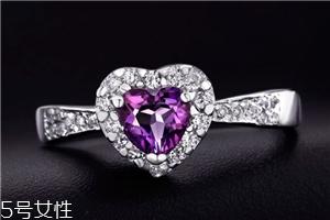 紫水晶戒指寓意是什么?象征爱情带来好运