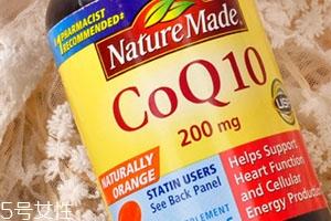 辅酶q10胶囊的作用和副作用