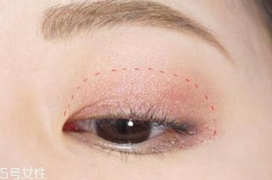 淡妆眼影的画法视频图片
