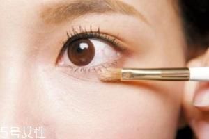 淡妆眼影的画法步骤图片图片